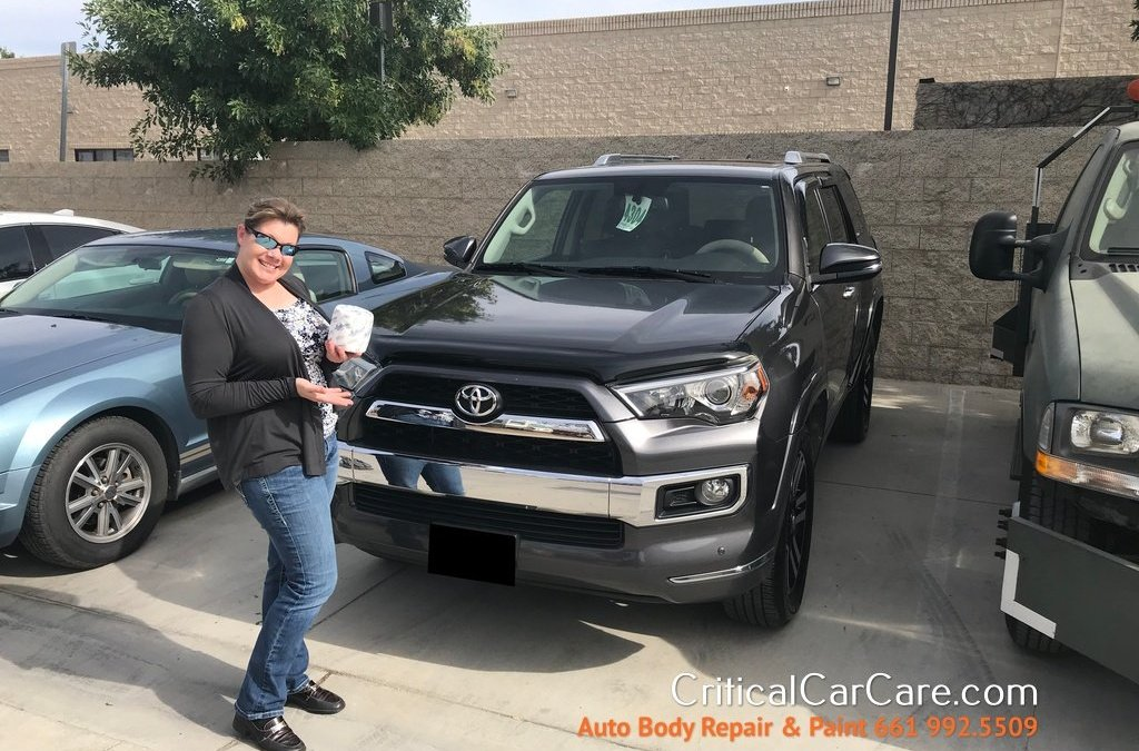 Toyota 4 Runner Before & After Auto Body Repair