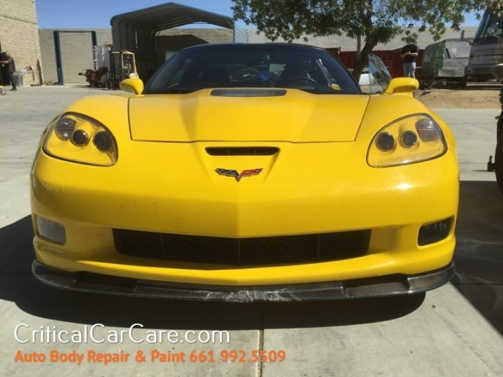 Critical Car Care Classic Repairs: Chevy Corvette ZR1 w/3ZR