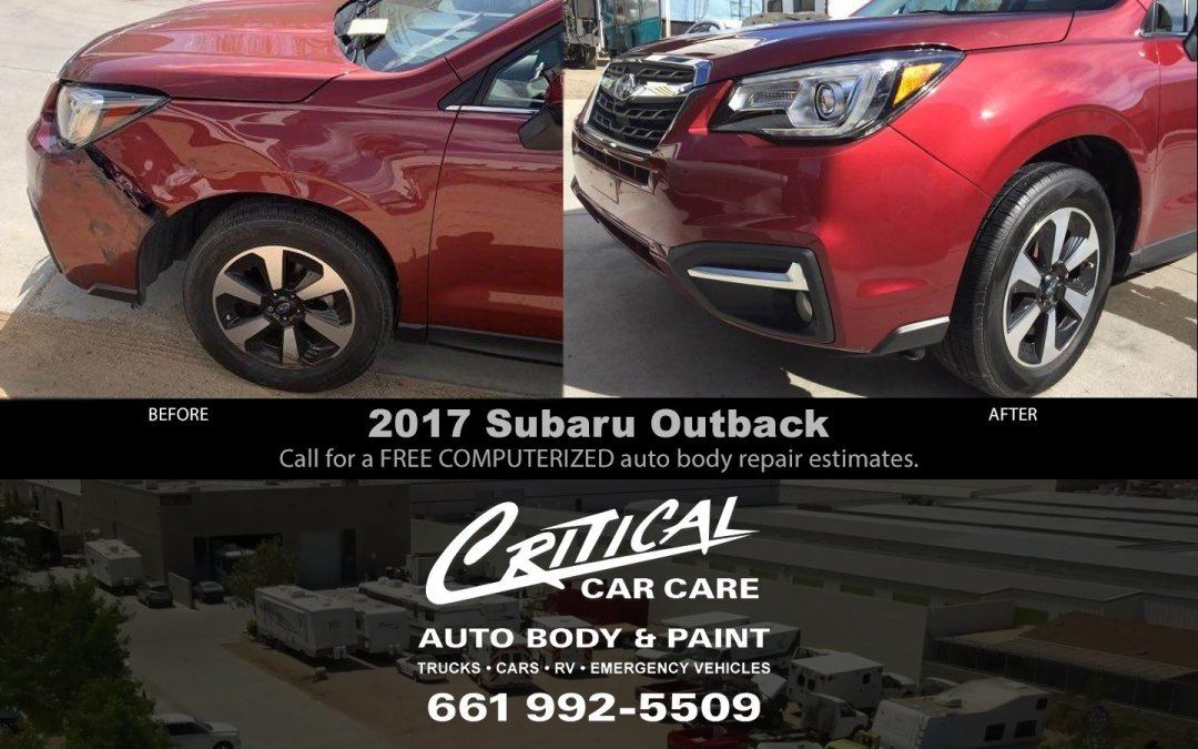 2017 Subaru Outback auto body repair