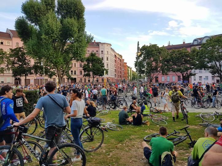 CM Berlin, Juli 2016 Treffpunkt Mariannenplatz