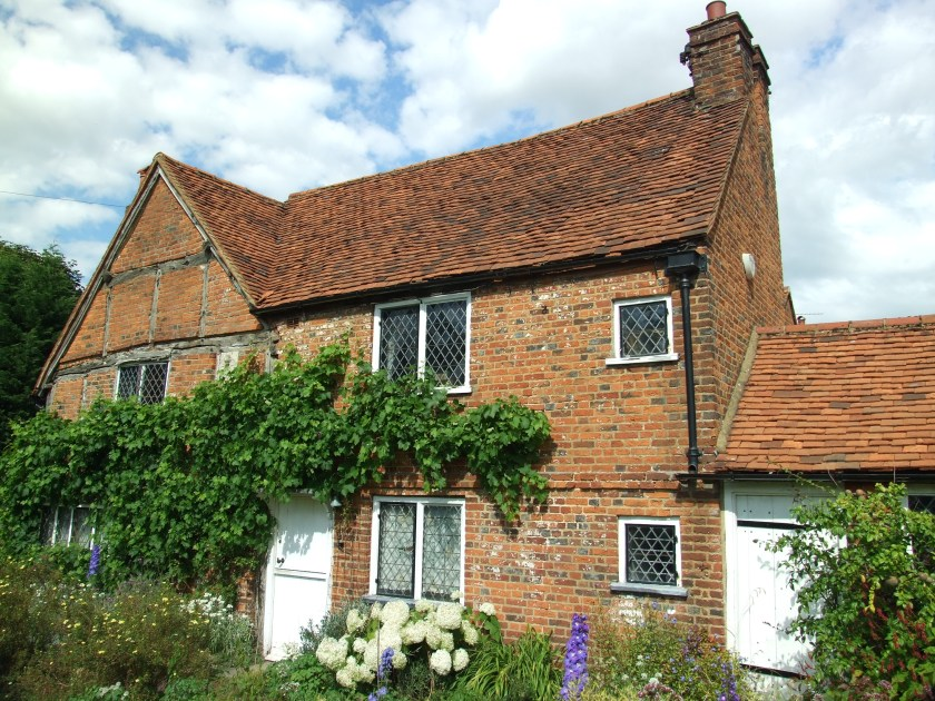 The Cottage of John Milton (in which he briefly dwelt).