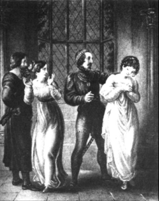 Leoline Abandons Christabel for Geraldine
