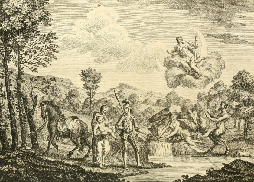 Guyon and Palmer in The Faerie Queene