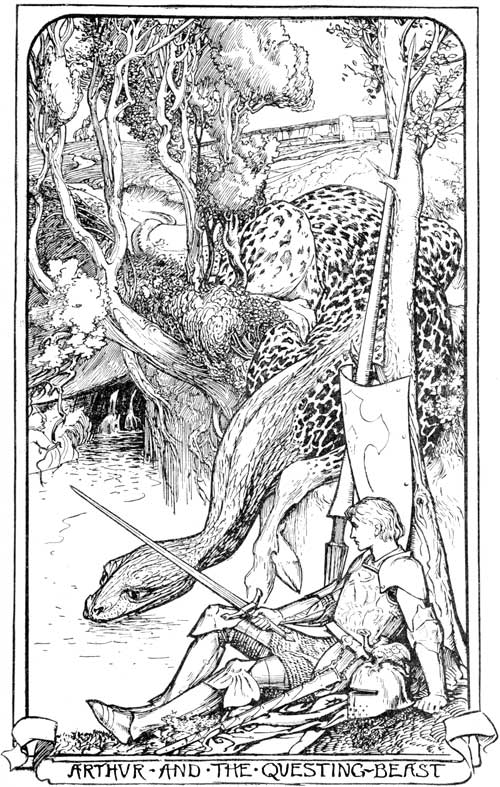 King Arthur and the Questing Beast