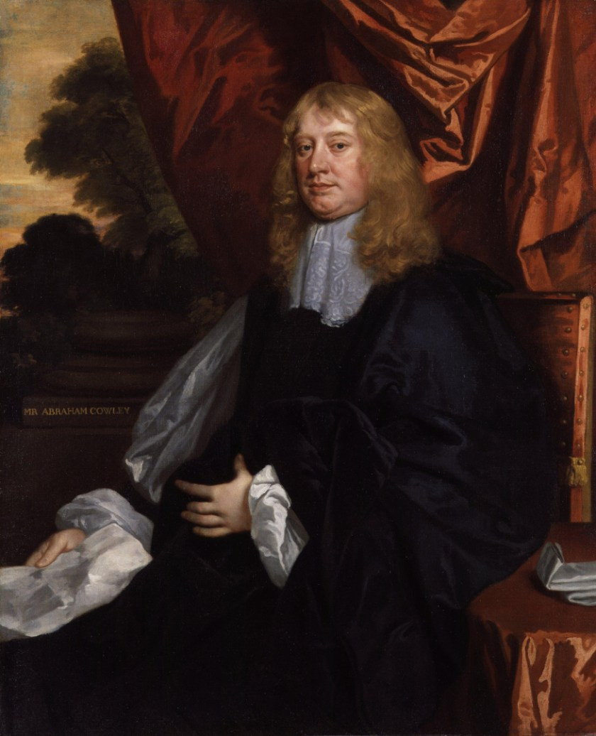 Abraham Cowley, by Sir Peter Lely