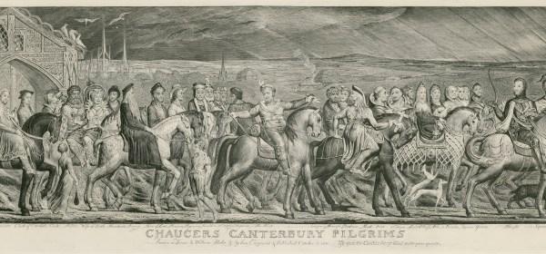 Chaucer's Canterbury Pilgrims, by William Blake
