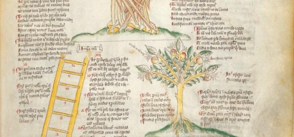 Cherubim, Ladder of Virtues, and Tree of Penitence Manuscript
