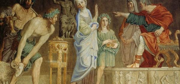 The Trial of Saint Cecilia by Domenichino