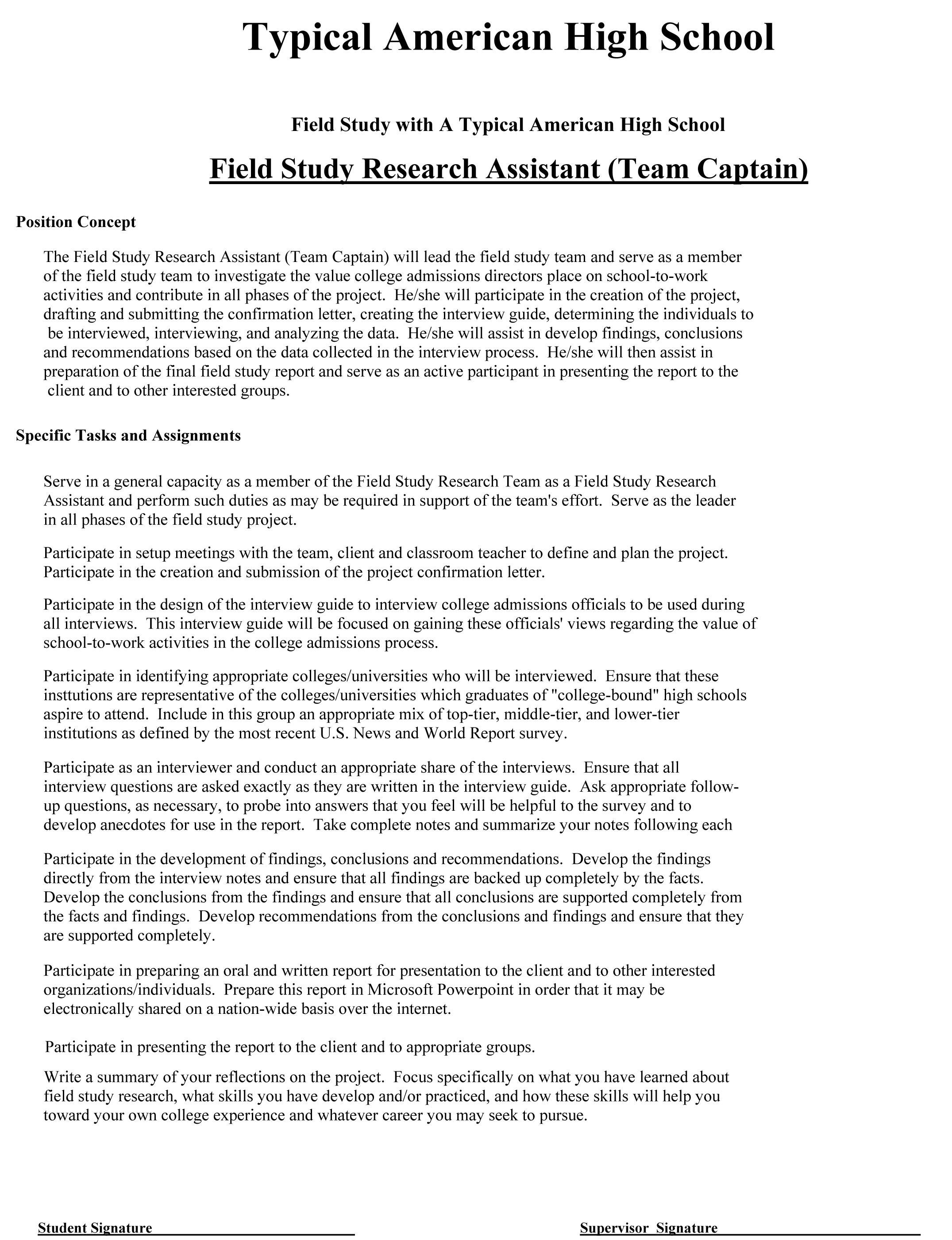 Field Studies – The BEST Way to Teach Critical Skills