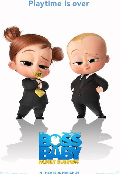 The Boss Baby 2 Family Business (2021)
