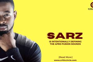 Sarz Is Intentionally Defining The Afro Fusion Sounds