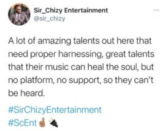 Valee YVE, Young Promising Talent Gets Signed to Sir Chizy Entertainment [See Details]