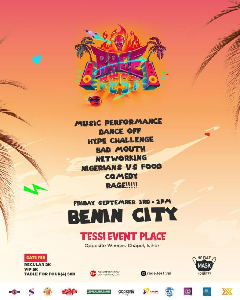 Rage Fest - All You Need To Know [See Details]