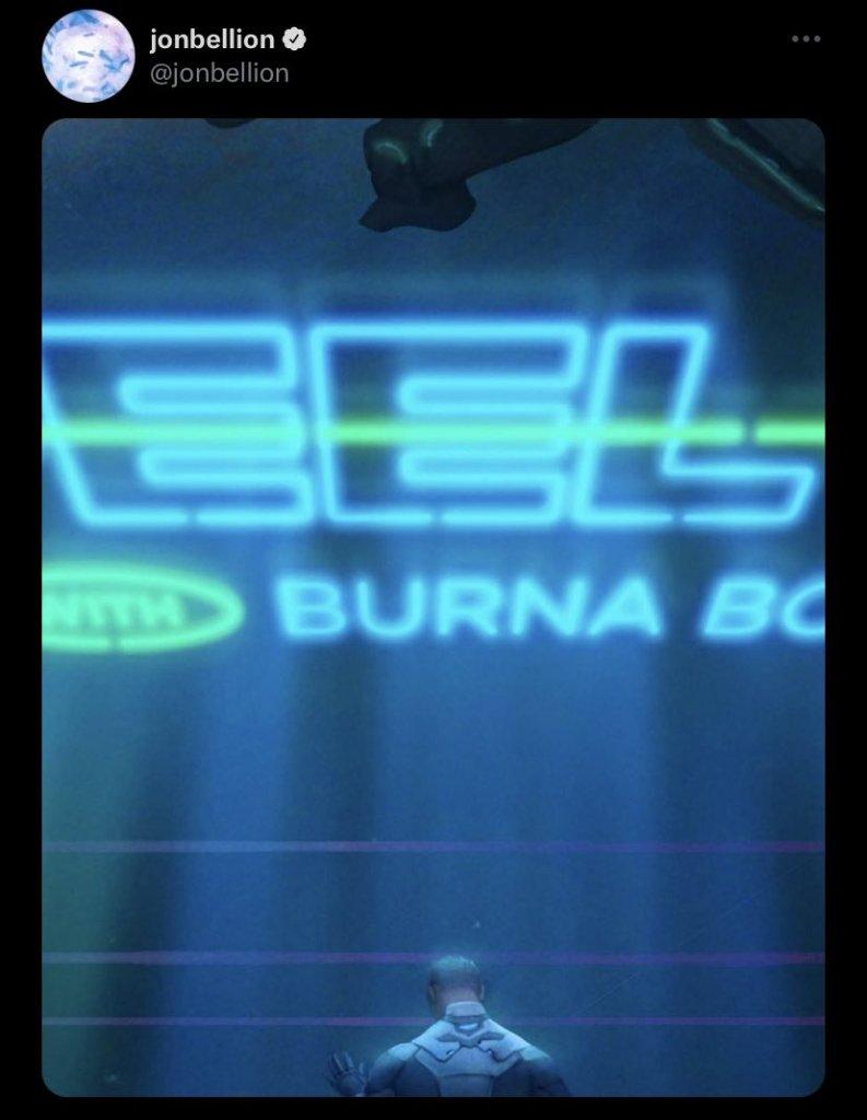 BUrna Boy and Jon Bellion tweet