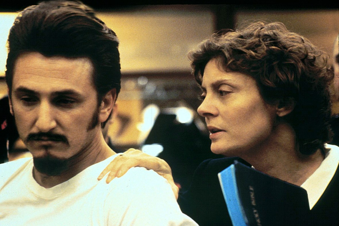 FILM: DEAD MAN WALKING (1995) SUSAN SARANDON AND SEAN PENN IN A