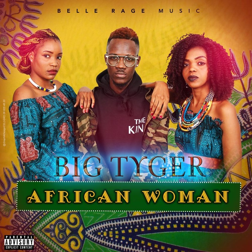 COVER BIG TYGER AFRICAN WOMAN