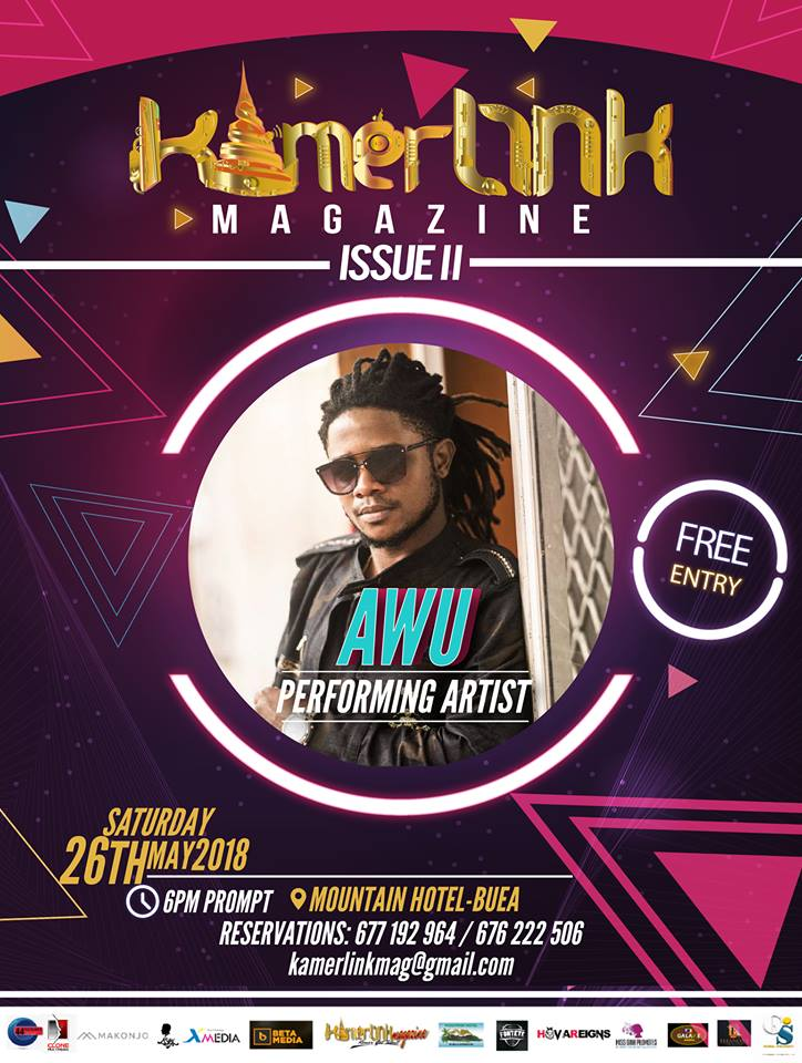 Awu to perform at the Second Edition of KamerLink Magazine Launch