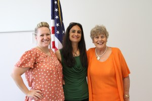 Crittenon staff graduates of the  Leadership Fullerton program include Briana Wheat, Gina Brunick and Lynda Scarlino.