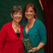 Kimberly Ostrowski Crittenton Volunteer of the Year 2013.