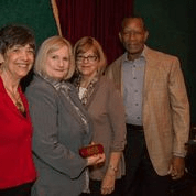 Pat Paavola Volunteer Award Reciepient.