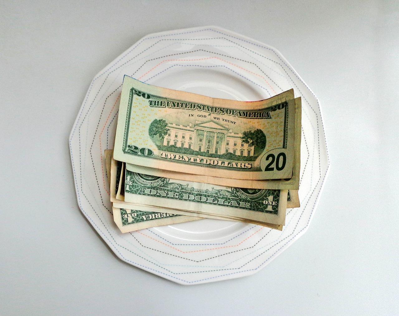 money tip plate Critter Caretakers Pet Services Should You Tip Your Pet Sitter?