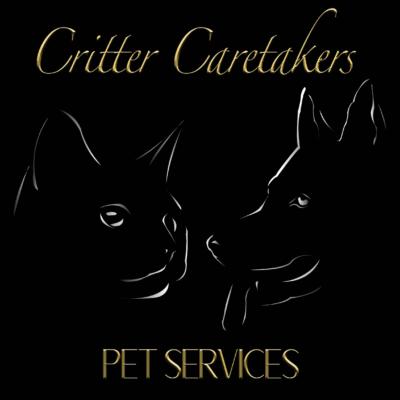 critter caretaker pet sitters logo