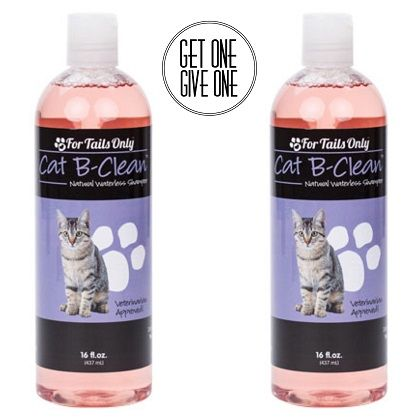 For Tails Only Cat B Clean Natural Waterless Shampoo Youngevity Critter Caretakers Pet Services Youngevity Cat B-Clean Natural Waterless Shampoo