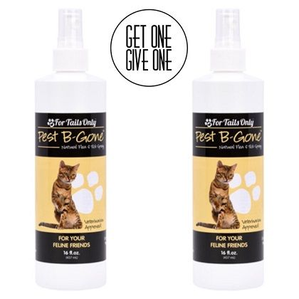 for tails only Pest B Gone for Cats 16 oz Spray Critter Caretakers Pet Services Youngevity Pest B Gone for Cats 16 oz Spray