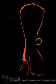 Batesian mimic: juvenile batfish (Platx pinnatus). Photo by Greg Lecoeur