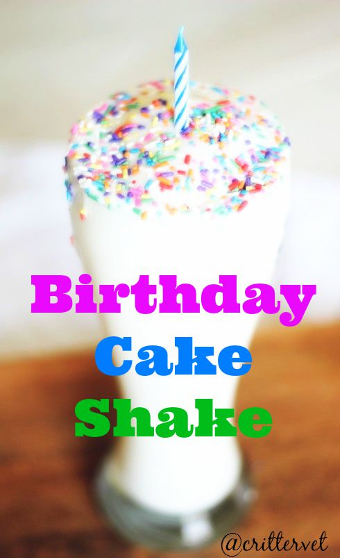 Tastes Sinful But It S Healthy Birthday Cake Protein Shake