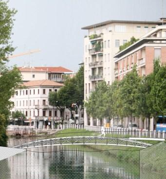 Bastione Castello - nuovo ponte pedonale