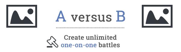 photo battle versus script