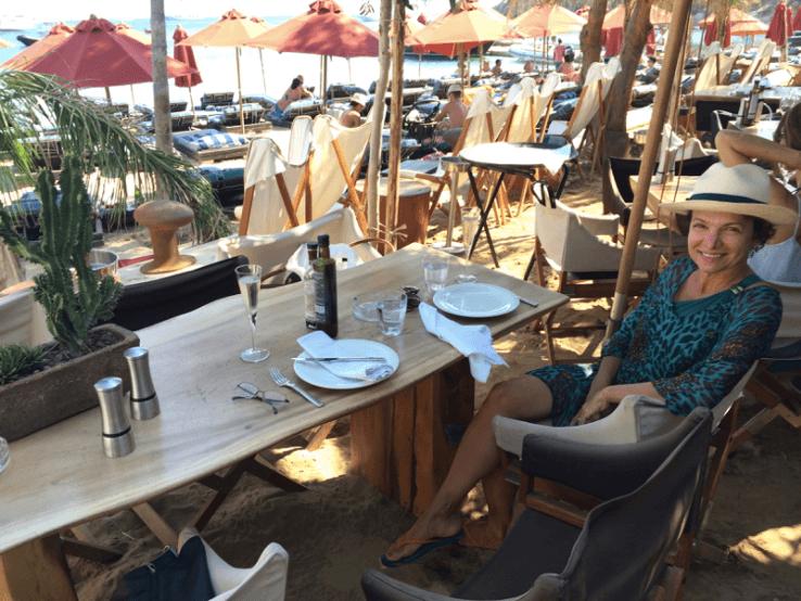 Greece Trip- Mykonos - Psarou Beach - Marcia Crivorot