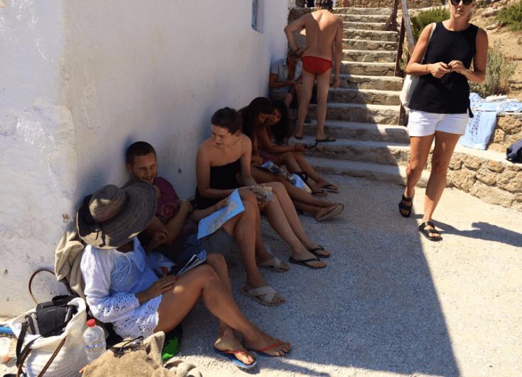 Greece Trip- Mykonos - Kikis -Marcia Crivorot