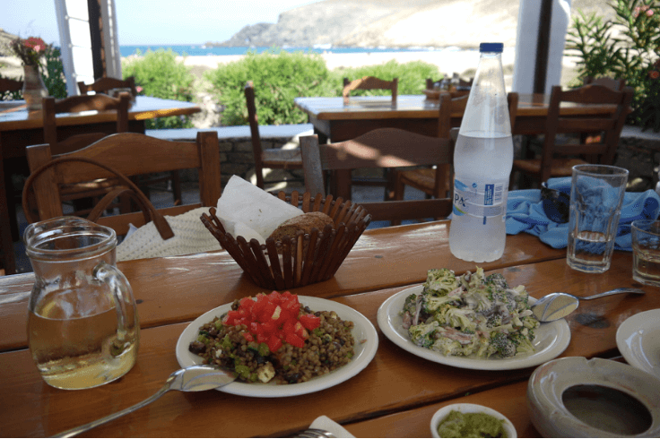 Greece Trip- Mykonos - Taverna Fokos Beach - Marcia Crivorot