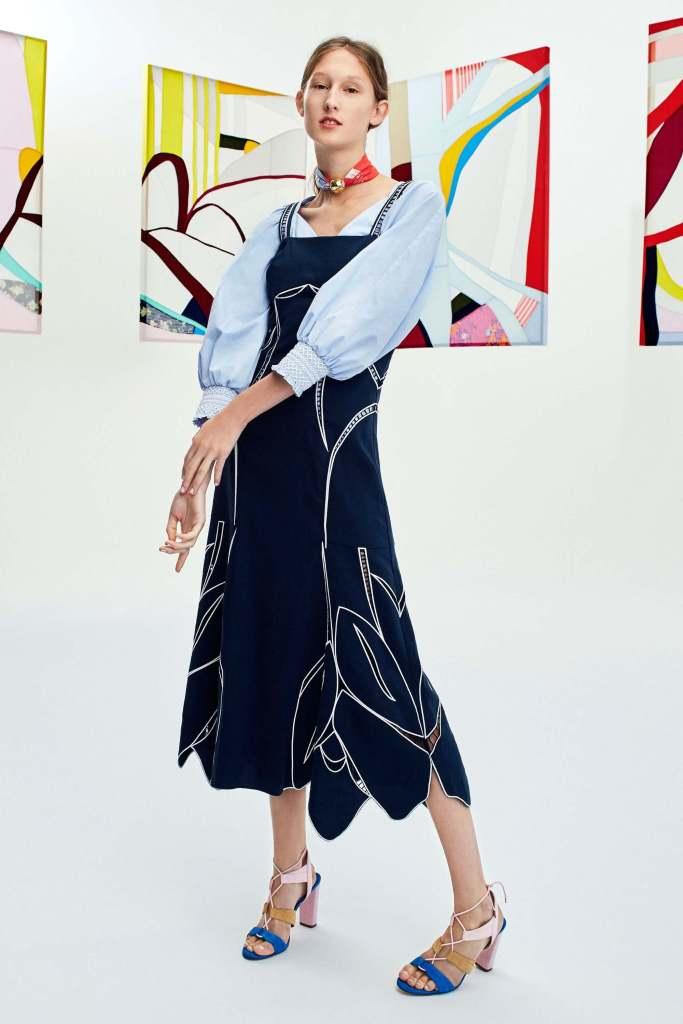 Tanya Taylor Spring 2018 - Semana de moda de Nova York - tendencias - NYFW - Crivorot Scigliano - Marcia Crivorot - personal stylist em Nova York