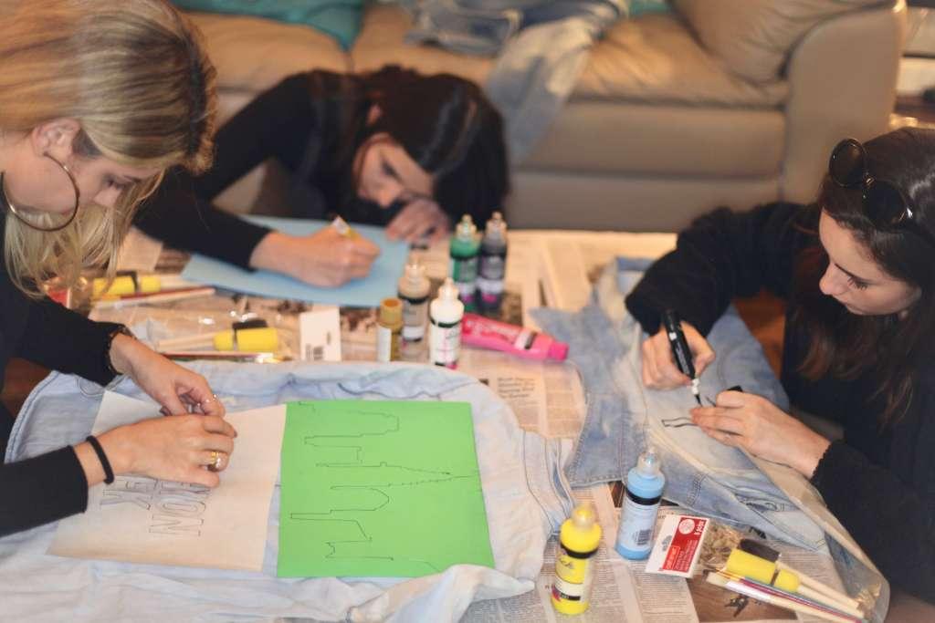 Participando do backstage dos desfiles da NYFW com o NY Fashion Tour - NY Fashion Tour - Curso de moda em Nova York - Tour de moda em Nova York - semana de moda de Nova York - desfiles - NYFW - backstage - Crivorot & Scigliano