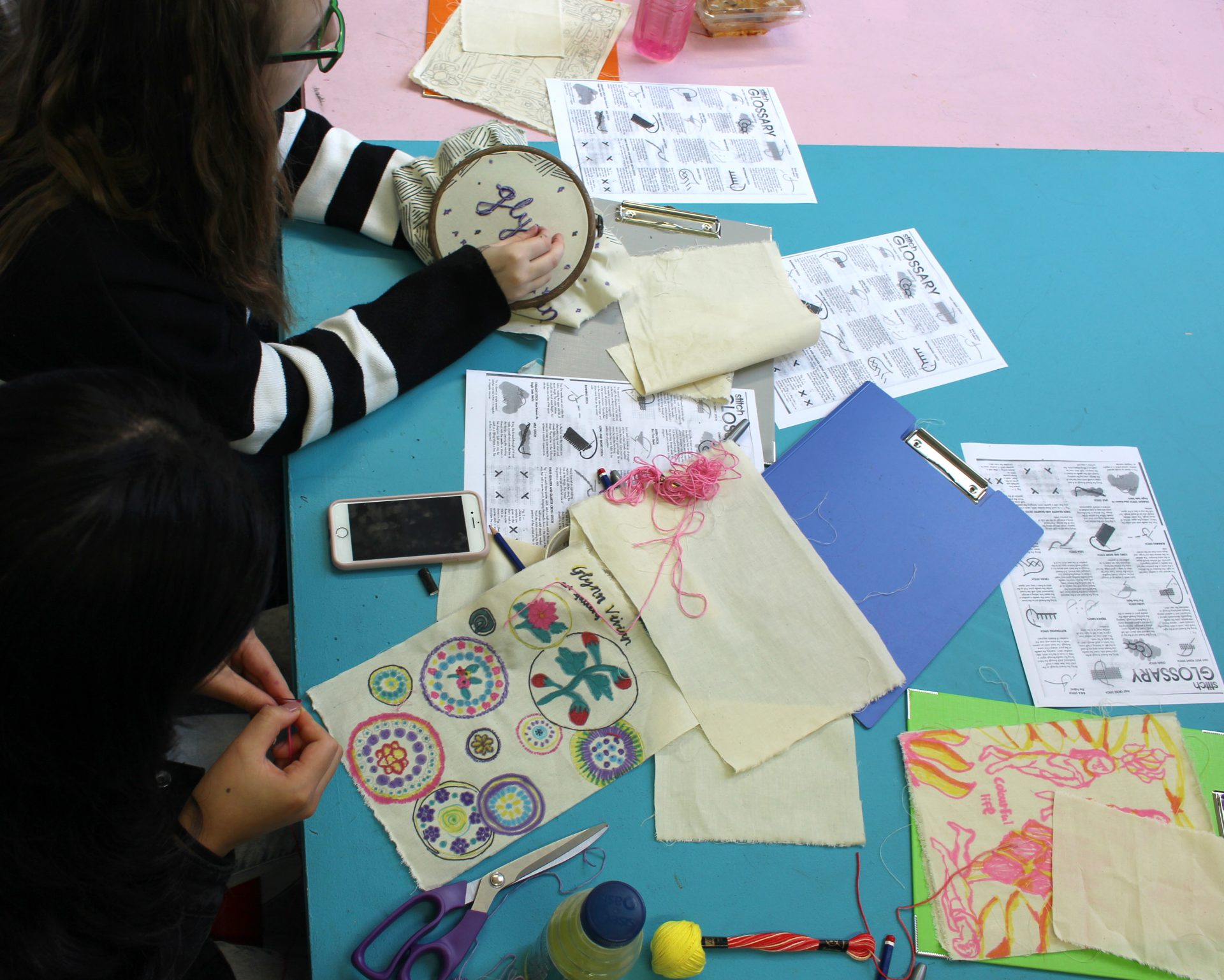 Textile masterclass with Shellie Holden