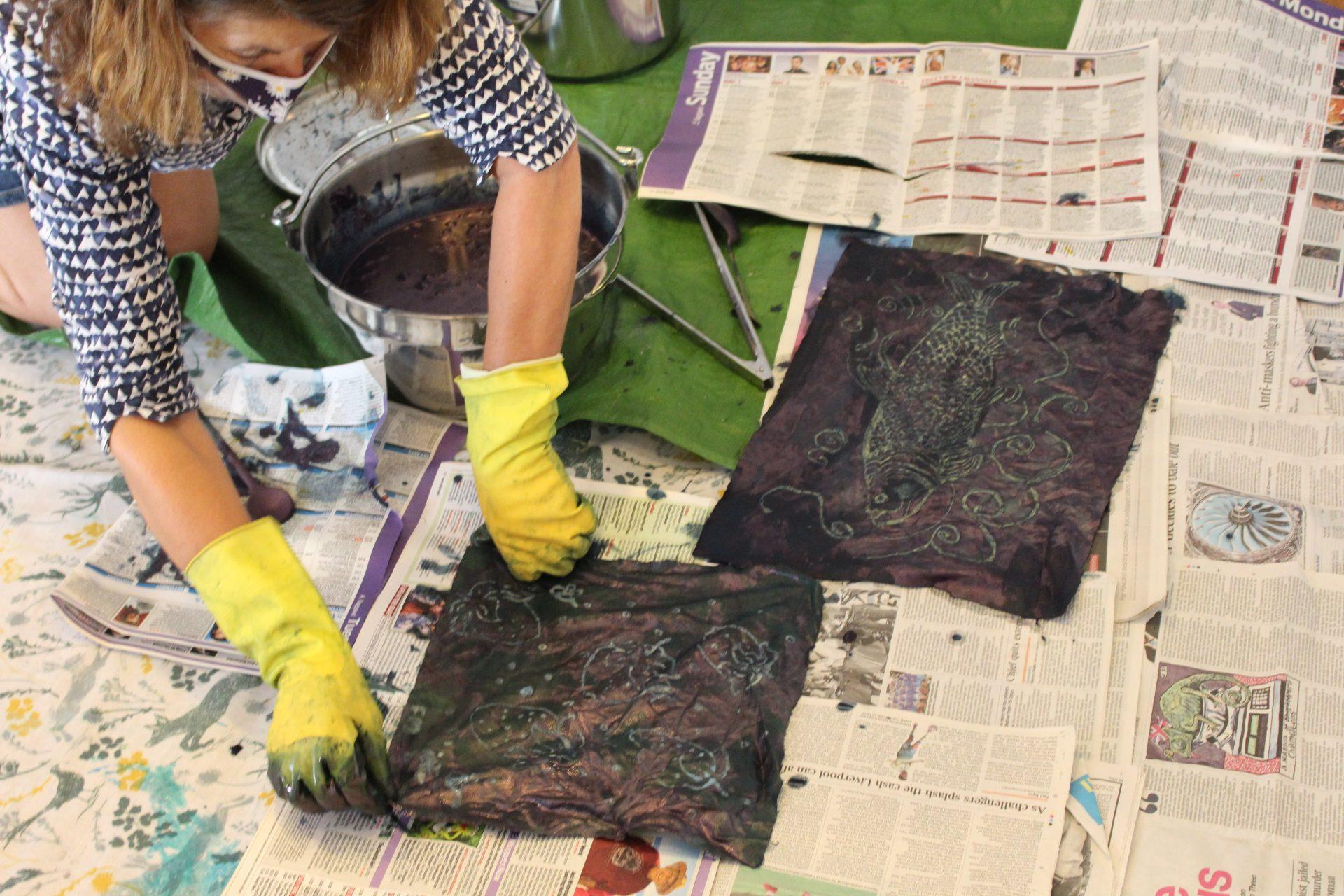 Batik & Indigo dyeing masterclass with Sara Holden