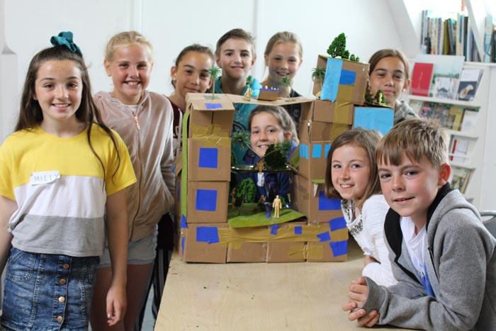 Photo of Criw Celf Primary Workshop