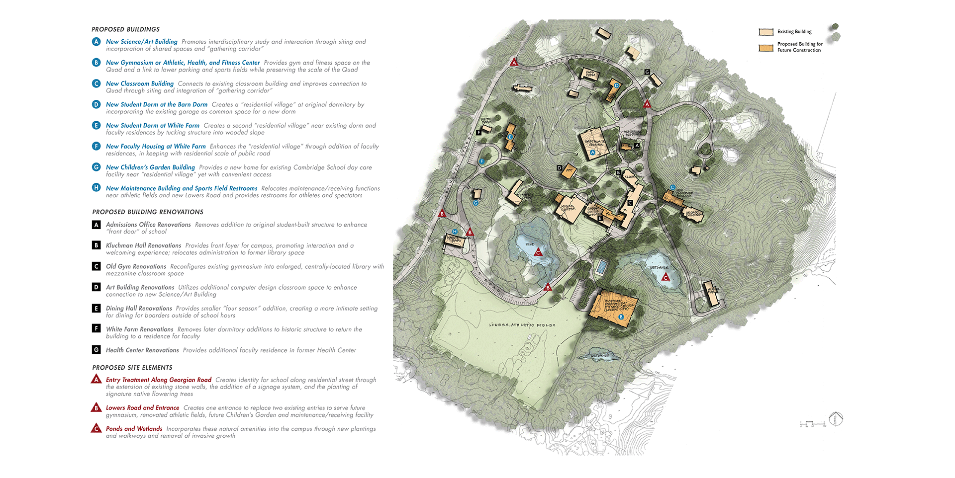 Deerfield Academy Campus Map