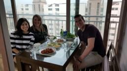 Dinner at my co-teachers!