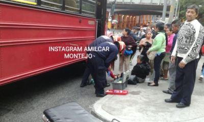 Un ataque armado dentro de un bus de transporte colectivo dejó como saldo a una mujer herida. El hecho ocurrió en la zona 5 de la Ciudad Capital.