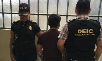 El adolescente de 17 años fue capturado por abuso sexual.
