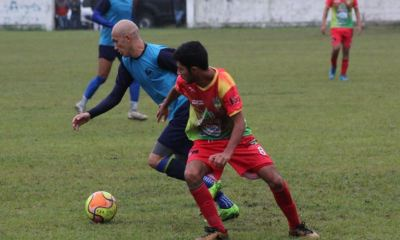 Cobán Imperial goleó 4-0 a Santa Cruz de la Segunda División, en un partido amistoso de cara al torneo Clausura 2020. (Foto: Deyler Chocooj)