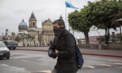Una masa de aire frío afecta el clima en Guatemala. Los vientos fríos y fuertes aumentarán por la noche. (Foto: AGN)