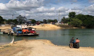El ferry boat dejará de funcioar durante unos días debido a que tiene que ser reparado. (Foto: Eduardo Sam)
