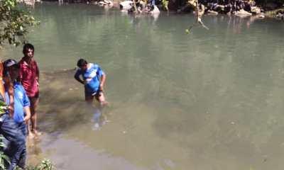 El niño murió ahogado en el Río Cahabón. Su cuerpo fue rescatado por los Bomberos Voluntarios. (Foto: CBV)