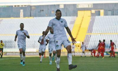 Jorge Aparicio celebra eufórico el primero de los dos goles que anotó contra Municipal en el Clásico 312. (Foto: Comunicaciones FC)