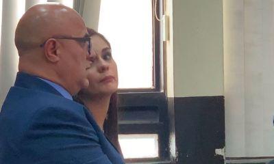 El exministro de Salud Jorge Villacencio y su hija Saraí quedaron ligados a proceso penal por el caso Asalto al Ministerio de Salud. (Foto: Twitter)